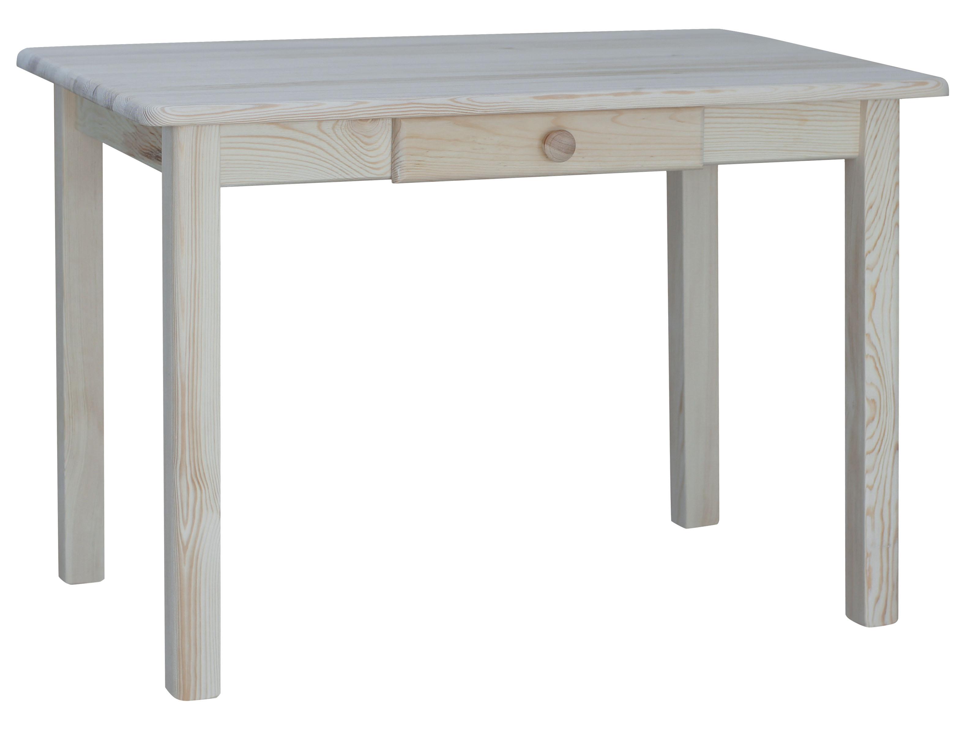 Esstisch mit Schublade Küchentisch Speisetisch Tisch Kiefer massiv ...