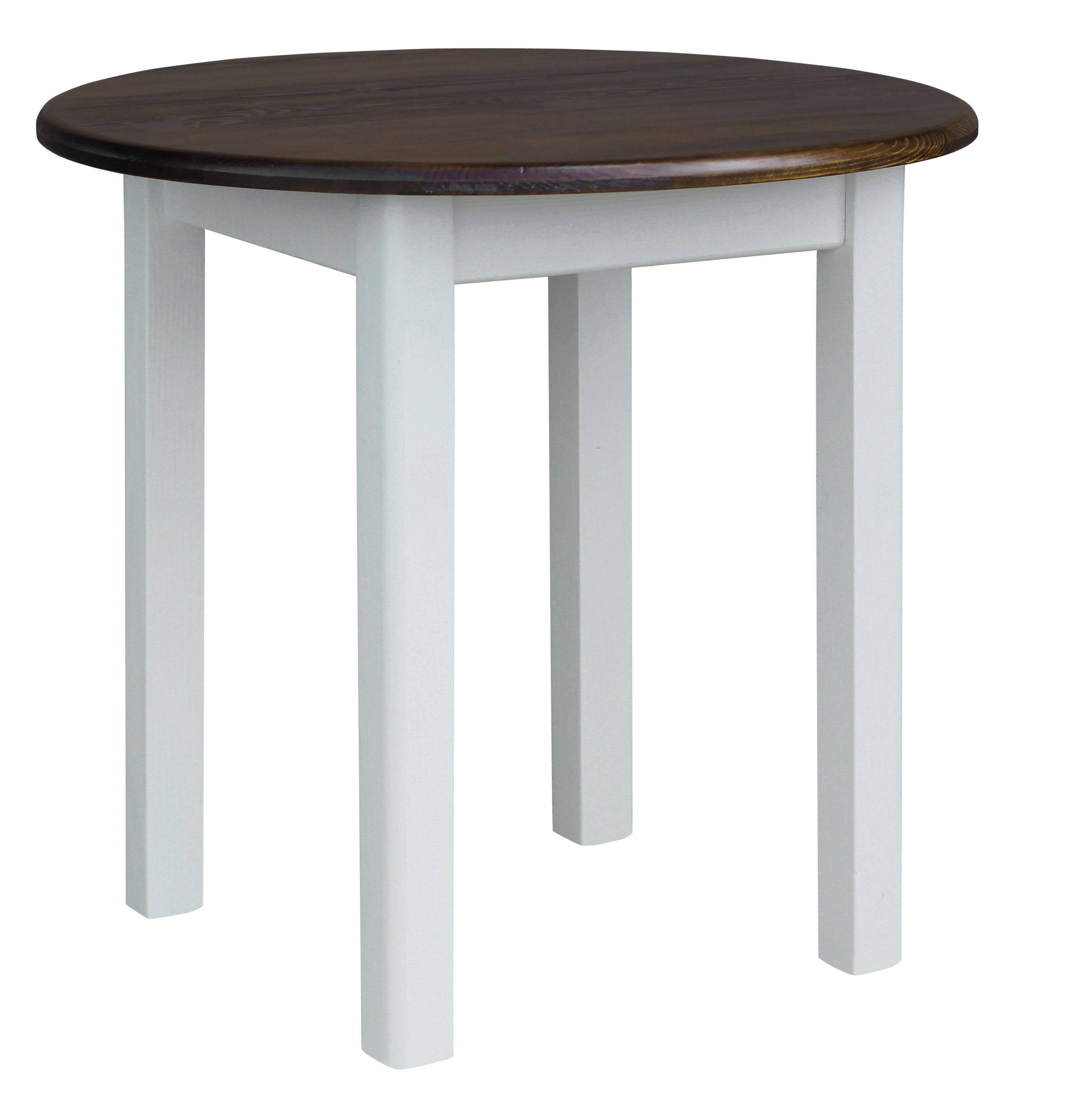 runder kiefer tisch esstisch holz k chentisch massiv wei honig landhausstil ebay. Black Bedroom Furniture Sets. Home Design Ideas